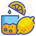 Lemon Fruit Organic Icon