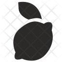 Lemon Fruit Mark Icon