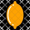 Lemon Food Eating Icon