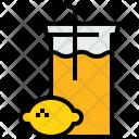 Lemon Juice Drink Icon