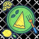 Lemon Cheese Cake Icon