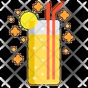 Lemon cocktail Icon