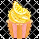 Lemon Cupcake Icon
