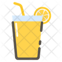 Lemon Drink Juice Glass Icon