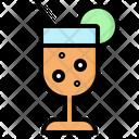 Drink Cocktail Lemon Icon