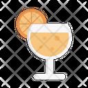 Lemon Soda Glass Icon