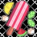 Lemon Ice Lolly Ice Lolly Freeze Pop Icon