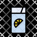 Soda Lemon Juice Icon