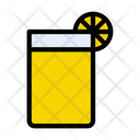 Lemon Soda Juice Icon