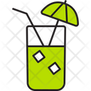 Lime Glass Icon