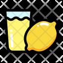 Lemon Juice Fruit Icon