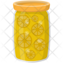 Lemon Pickles Jar Icon