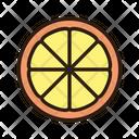 Lemon Slice Lemon Vegetable Icon