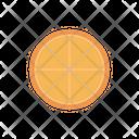 Lemon Orange Slice Icon