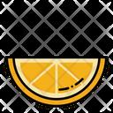 Lemon Slice Lemon Orange Slice Icon