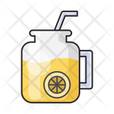 Lemon Soda Juice Icon