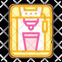 Coffee Machine Color Icon