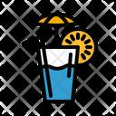 Lemon Tea Tea Cold Tea Icon