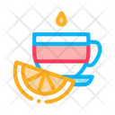 Cup Tea Lemon Icon