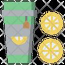 Lemon Tea Food And Restaurant Ice Tea Icon