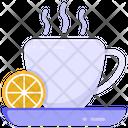 Citrus Tea Lemon Tea Lime Tea Icon