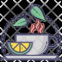 Lemon Tea Herbal Tea Tea Cup Icon