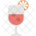 Lemon Juice Summer Icon