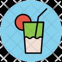 Lemonade Glass Drink Icon