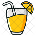 Summer Drink Lemonade Beach Drink Icon