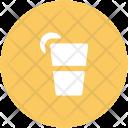 Lemonade Juice Glass Icon