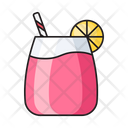 Soda Lemon Juice Icon