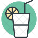 Lemonade Orange Juice Icon