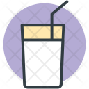 Lemonade Juice Glass Icon