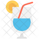 Lemonade Juice Orange Icon