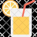 Lemonade Cold Drink Icon