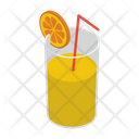 Lemonade Glass Drink Icon