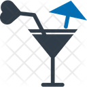 Lemonde Beach Drink Cocktail Icon