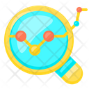 Len Zoom Data Icon