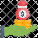 Lending Money Icon