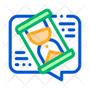 Lengthy Negotiations Contract Icon