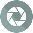 Lens Button Icon
