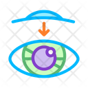 Eye Vision Contact Icon