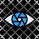 Lens Shutter Camera Icon