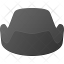 Lens Objective Hood Icon