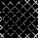 Diaphragm Black Shutter Icon