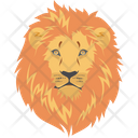 Angry Face Animal Leo Icon