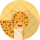 Leopard Animal Carnivores Icon