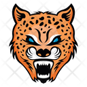 Leopard Face Leopard Mascot Panther Face Icon