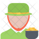 Leprechaun Gold Pot Icon