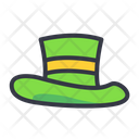 Leprechaun St Patrick Hat Hat Icon